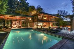 Designed by fabulous mid-century architectural firm Buff & Hensman, this 1960 Nichols Canyon home had been the victim of some less-than-awesome alterations when the current owner purchased it in...