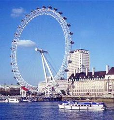 50 Most Popular Tourist Attractions In The World: The London Eye, London, England, UK London Eye, Oh The Places You'll Go, Places To Travel, Things To Do In London, Greater London, Places Of Interest, Future Travel, London England, England Uk