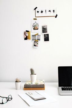 Interior Obsessions: A Clean + Organized Workspace
