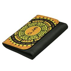 Sun Mandala Design Wallet