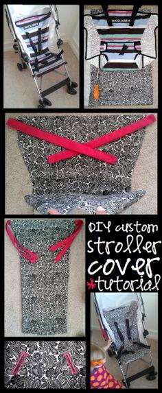 stroller cover tutorial