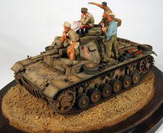 Image result for Afrika Korps Tanks Models dioramas
