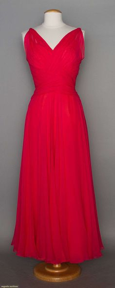 Helen Rose Evening Gown, 1948-1955, Augusta Auctions, November 12, 2014