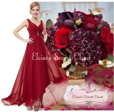 Feminine full length jewel embellished maxi occasion evening bridesmaid ballgown dress Shaped V neckline pleated bodice embellished with pretty