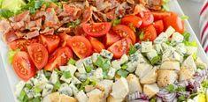 Sałatka Cobb Cobb Salad, Breakfast, Kitchen, Food, Morning Coffee, Cooking, Meals, Kitchens, Yemek