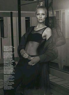 Melissa Tammerijn by Jonas Bresnan for S Moda El Pais September 2014