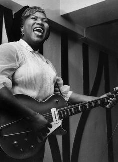 Sister Rosetta Tharpe was a true rock star long before Elvis Presley or Chuck Berry hit the stage.