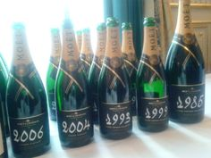 Moët & Chandon masterclass at VinCE Budapest 2014 featuring Grand Vintages