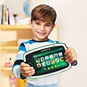 LeapFrog LeapPad Platinum 7″ HD Tablet with Carrying Case, Green