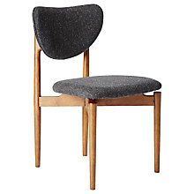 Buy west elm Dane Dining Chair Online at johnlewis comSOPHIE Oak dining chair with black seat pad   Black seat pads  Oak  . Seat Pads For Dining Chairs John Lewis. Home Design Ideas
