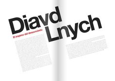 Revista DALE! by Santiago Wardak, via Behance