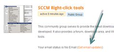 New community resource: SCCM Right-click Tools - consolidated and organized