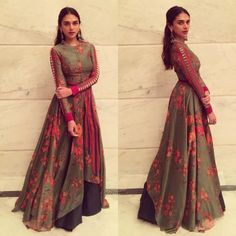 Aditi Rao Hydari in a Saaksha and Kinni Dress Pakistani Dresses, Indian Dresses, Indian Outfits, Western Dresses, Western Outfits, Indian Attire, Indian Wear, Indian Style, Full Gown