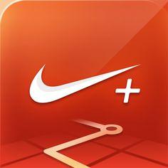 Nike+ Running iOS App Icon