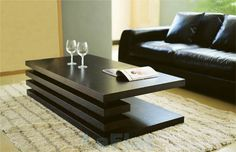 Modern Coffee Tables New Idea in Furniture and Design: Modern Black Color Modern Coffee Tables Design Ideas