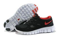 Damen Nike Free Run 2 Schuhe - schwarz