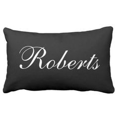 Customized Black and White Identify Throw Pillow.  Find out even more by going to the image