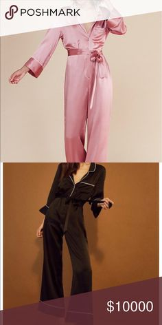 ISO!!!!!!! Reformation Ainsley jumpsuit ISO Reformation Ainsley jumpsuit in pink or black. Size 0, 2, or 4. Please comment if you are willing to sell! Reformation Other