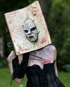 crazy possessed book costume