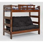 Woodcrest Heartland Chocolate Futon Bunk Bed