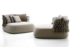 Fat Sofa Outdoor Collection by Patricia Urquiola large relax island