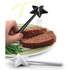 Magic Wand Solt & Pepper 魔法の杖の形をした塩コショウ入れ