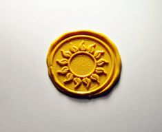 Custom design sunflower Wax Seal stamp by sweetzakkahouse on Etsy