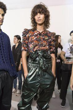 Isabel Marant Spring 2018 Fashion Show Backstage - The Impression
