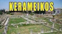 Visit To The Kerameikos Cemetery - Athens Greece