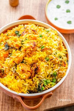 Best ever vegetable biryani with loads of flavors to enjoy the festivities to the max and fill in your loved ones' life with loads of happiness and joy! It is festival time and festival time calls for special dishes! So here I am sharing a perfect celebra Curry Recipes, Rice Recipes, Indian Food Recipes, Vegetarian Recipes, Cooking Recipes, Ethnic Recipes, Cooking Tips, Diwali Recipes, Arabic Recipes
