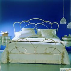 ArredaClick - Italian design furniture blog: Italian wrought iron beds: a fairy tale in your be...