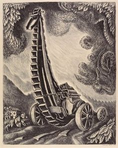 Stone Crusher, by Wanda Gag. Minneapolis Institute of Arts Value Drawing, Drawing Style, Art Students League, Commercial Art, Children's Book Illustration, American Artists, Art History, Printmaking, Art Reference