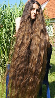 Loose Braid and Chignon - 30 Quick and Easy Updos for Long Hair - The Trending Hairstyle Easy Updos For Long Hair, Curls For Long Hair, Big Hair, Beautiful Long Hair, Gorgeous Hair, Silky Smooth Hair, Long Hair Models, Rapunzel Hair, Really Long Hair