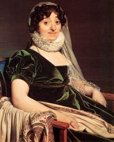 Жан Огюст Доминик Энгр  Портрет г-жи Турнон, 1812 год