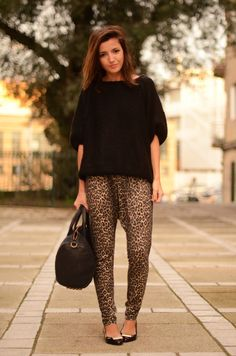 Me and my love for all things leopard