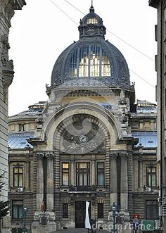 Photo about CEC Palace in Bucharest, a city located in Romania. Image of calea, facade, romania - 31845858 Capital Of Romania, Palace Of The Parliament, Oh The Places You'll Go, Places To Visit, French Exterior, Neoclassical Architecture, Bucharest Romania, Beautiful Park, Future Travel