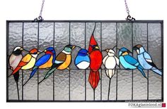 Patroon vogeltjes