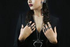Pregomesh | Armenian Jewelry brand Hands With Rings, Jewelry Branding, Jewelery, Chain, Bracelets, How To Wear, Accessories, Women, Silver