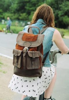 The Tan Dragon Rucksack from My Green Bag