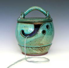 yarn bowl. cute idea!