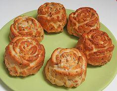 Käse - Röstzwiebel - Muffins, ein sehr schönes Rezept aus der Kategorie Kalt. Bewertungen: 31. Durchschnitt: Ø 3,7.