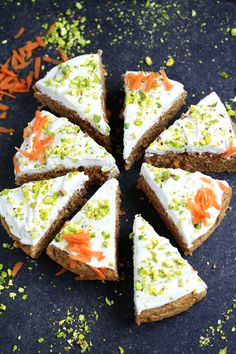 Vegan Gluten-free Carrot Cake So apparently it's carrot cake day today. It also happens to be my birthday. How could I NOT celebrate it with a carrot cake?? I love the idea of adding a…