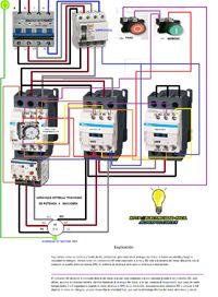 Esquemas eléctricos: como hacer funcionar un motor en estrella triangul...