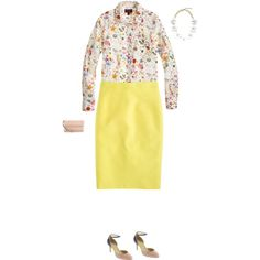 """Liberty and citron"" by girlyfriar on Polyvore"