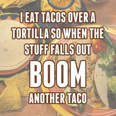 BOOM ... another taco