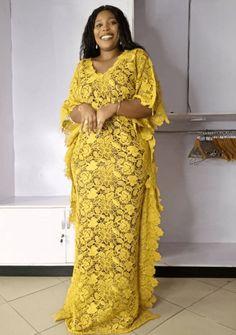 Nigerian Dress Styles, Short African Dresses, African Blouses, Latest African Fashion Dresses, Maxi Styles, Africa Fashion, African Attire, Aso Ebi, Lilac