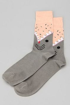 These socks made me laugh so hard!  Is it weird that the only thing that keeps me from buying 39483434 pairs is the leg hair?