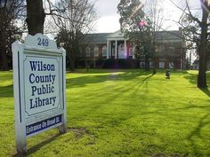 One of my very favorite places growing up! Wilson County Public Library- North Carolina