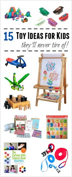 15 Toys Your Child Will Play with Again and Again! (Games, building toys, books, outdoor toys, and more!) ~ BuggyandBuddy.com