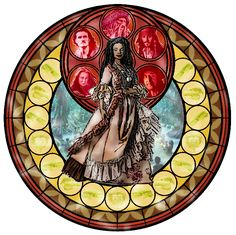 Kingdom Hearts Tia Dalma by ArdennaOuvrard on DeviantArt Disney Stained Glass, Stained Glass Art, Disney Crafts, Disney Art, Disney Style, Tia Dalma, Wolf Warriors, 21st Century Fox, Disney Princesses And Princes